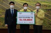 한국수력원자력(주) 월성원자력본부 임직원 일동 코로나19 극복 5,600여만원 성금 기탁
