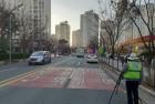 대구동부 교통경찰, 스쿨존 내 과속 단속 및 안전활동 강화